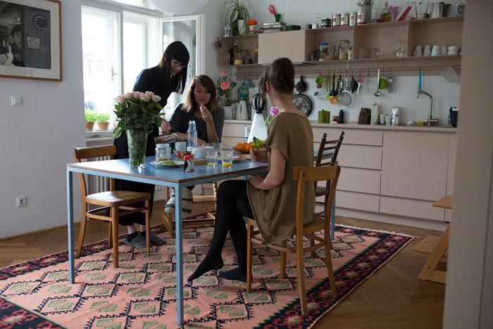 Lejla Kilim - hand-woven rug by Kobeiagi Kilims