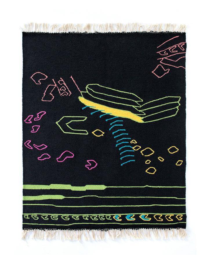 Massari Rosso Kilim - hand-woven rug by Kobeiagi Kilims