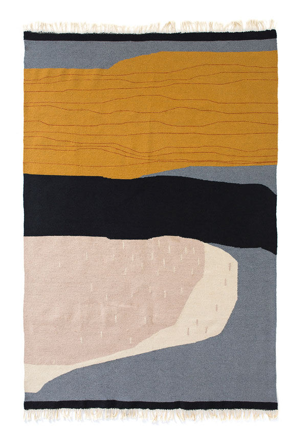 Stana Kilim - hand-woven rug by Kobeiagi Kilims