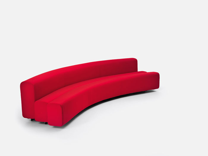 Osaka modular sofa by Pierre Paulin for LaCividina