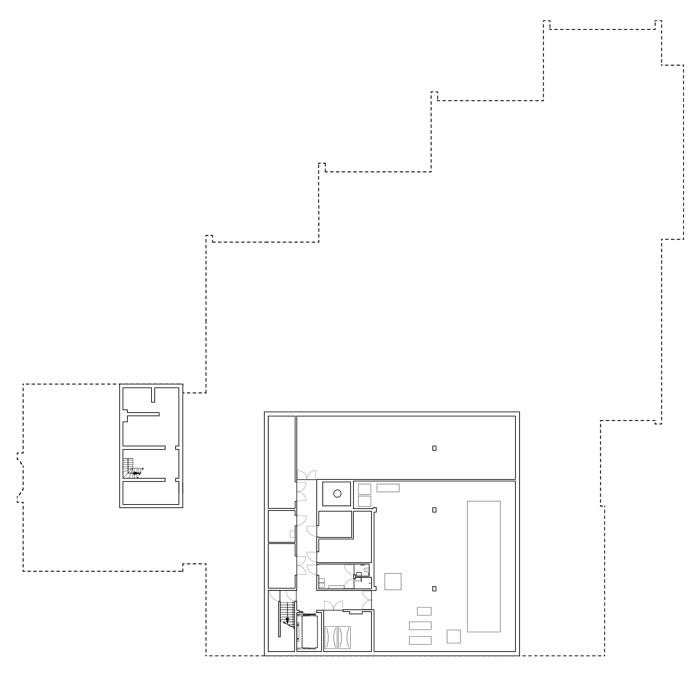 Museum MORE by Hans van Heeswijk Architects - Basement