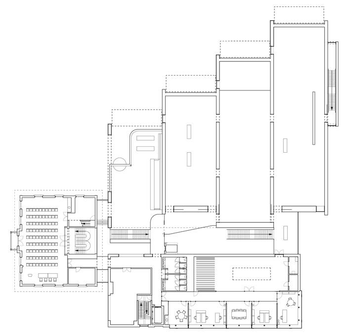 Museum MORE by Hans van Heeswijk Architects - First Floor