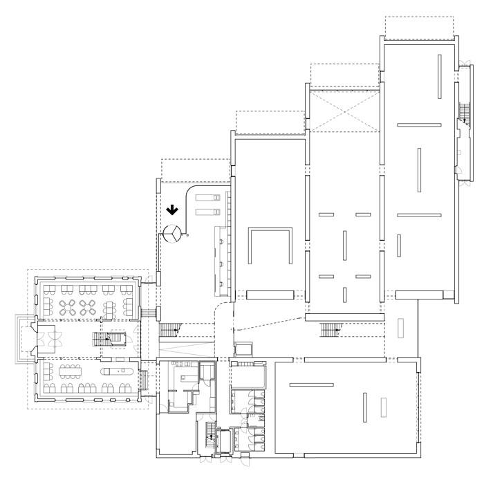 Museum MORE by Hans van Heeswijk Architects - Ground Floor