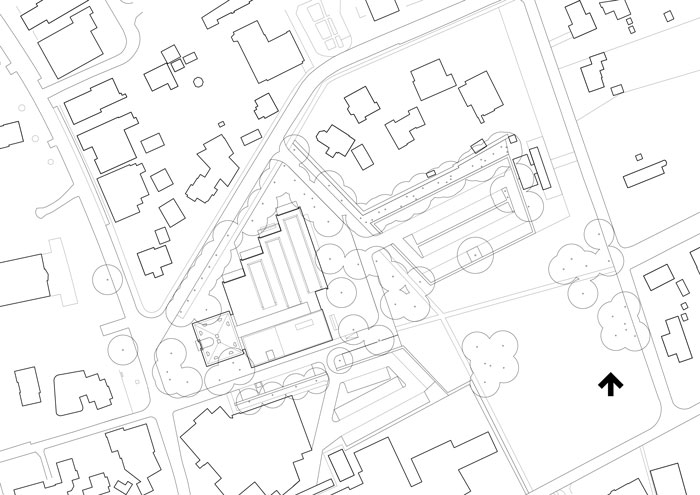 Museum MORE by Hans van Heeswijk Architects - Site Plan