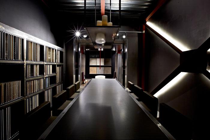 The Caroscope by Novoceram - A showroom dedicated to design and ceramics