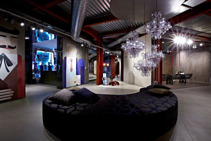 The Caroscope by Novoceram - A showroom dedicated to design and ceramics