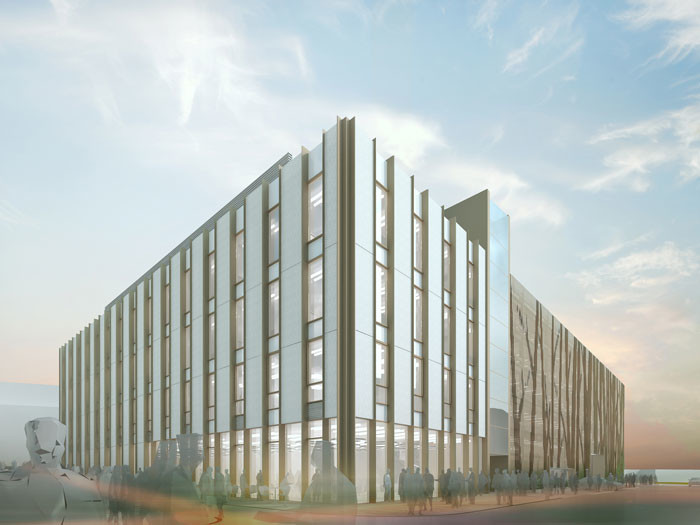 Make's sixth project for the University of Oxford gets planning