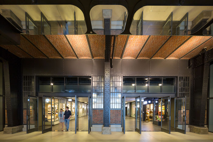 Amsterdam Passages at Amsterdam Central Station by Benthem Crouwel Architects, Powerhouse Company and Merk X