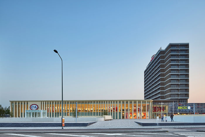 't Loon shopping complex in Heerlen, Netherlands by Powerhouse Company