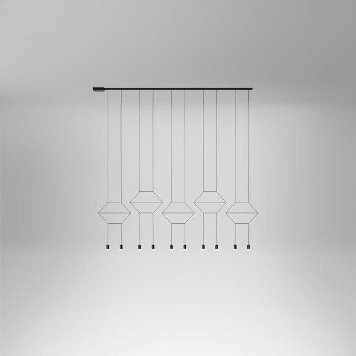 Wireflow Pendants by VIBIA
