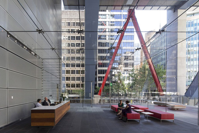 8 Chifley House by Lippmann Partnership - Completed Buildings, Office category - WAF 2015