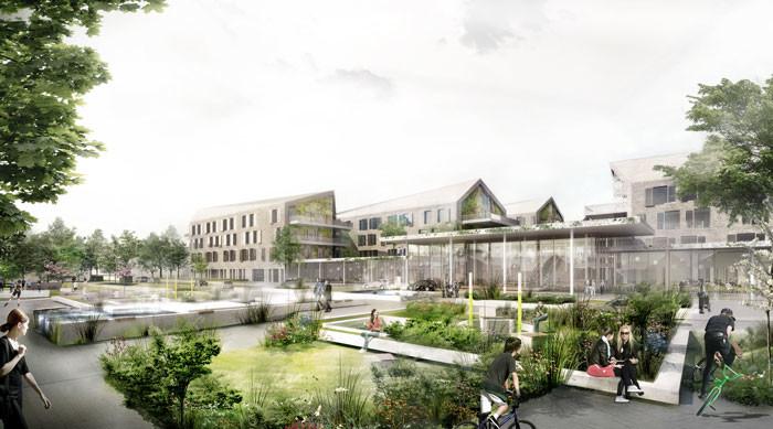 New Acute Hospital Bispebjerg by C.F. Møller & Terroir