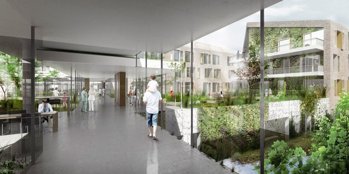 New Acute Hospital Bispebjerg by C.F. Møller & Terroir