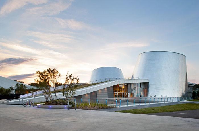 Cardin Ramirez Julien + Aedifica design stunning planetarium