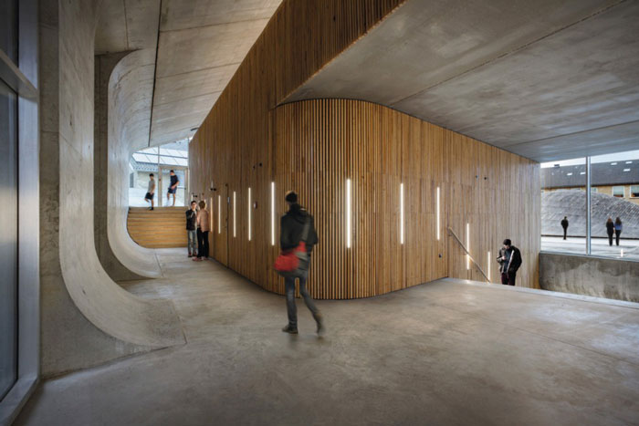 Gammel Hellerup High School by BIG - Completed Buildings, Schools category - WAF 2015