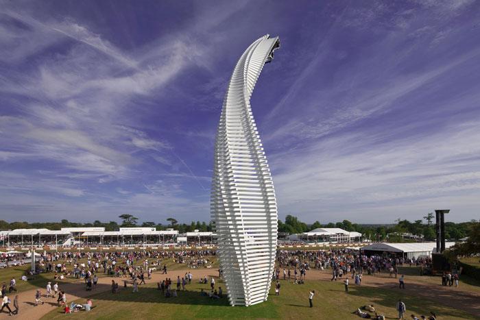 Mazda Sculpture - Goodwood Festival of Speed 2015 by Gerry Judah