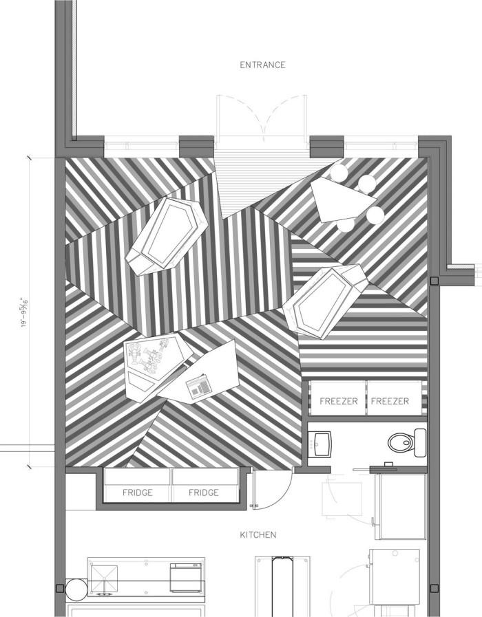 Némeau store by ean de Lessard, Designers Créatifs - Floor Design