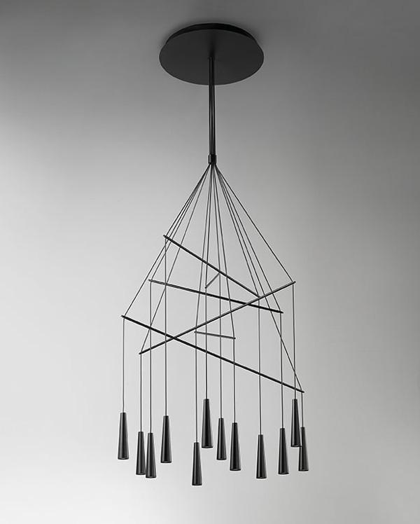 Mikado Pendant Chandelier by Filippo Mambretti for Morosini