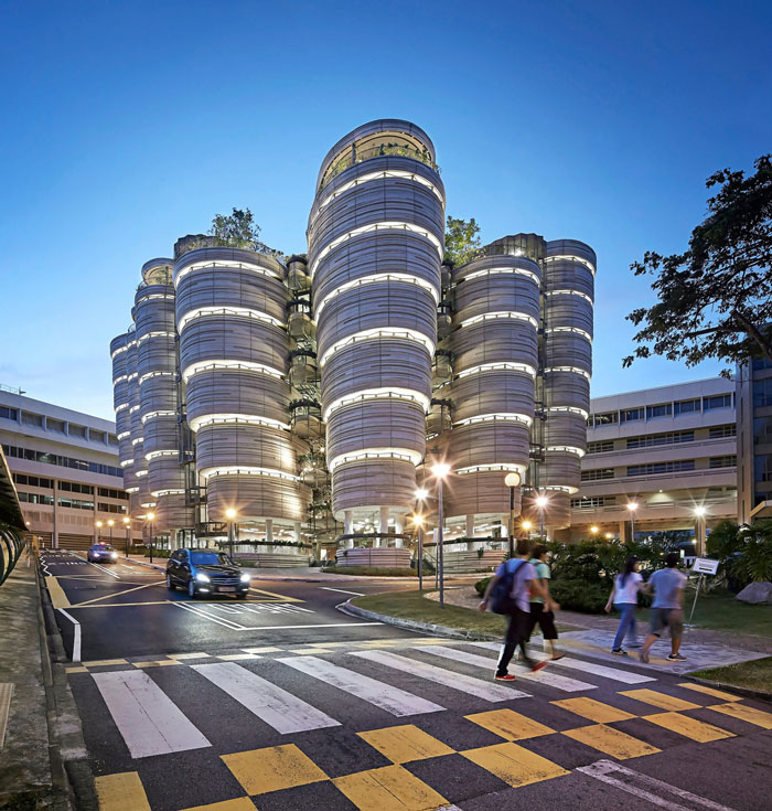 Nanyang Technological University by Heatherwick Studio - Completed Buildings, Higher Education category - WAF 2015