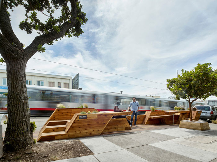 Sunset Parklet receives Special Recognition in Urban Design Award