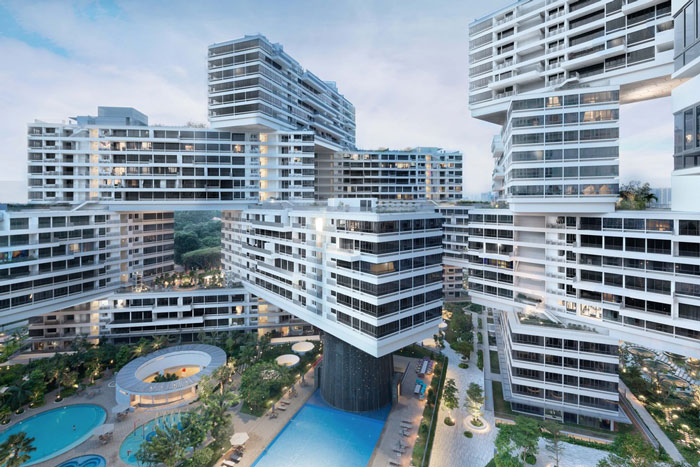 The Interlace by OMA/Buro Ole Scheeren - Completed Building, Housing category - WAF 2015