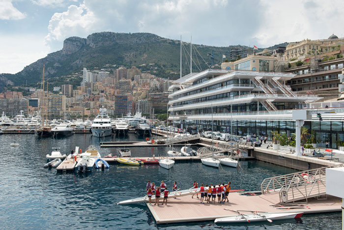 Yacht Club de Monaco by Foster + Partners - Completed Buildings, Hotel & Leisure category - WAF 2015