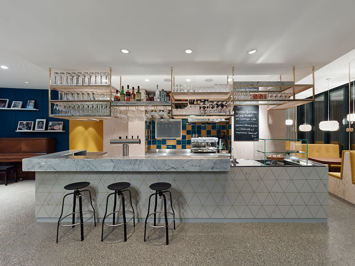 Ippolito Fleitz Group designs a multifunctional cafe