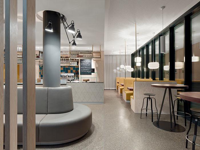 Ippolito Fleitz ippolito fleitz designs a multifunctional cafe design chronicle