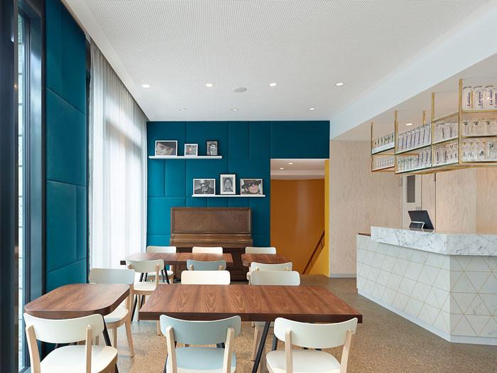 ippolito fleitz group designs a multifunctional cafe design chronicle. Black Bedroom Furniture Sets. Home Design Ideas