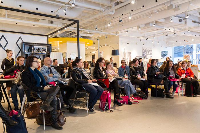 Circuit Index-Design 2014 - Conference in Mobilia's showroom