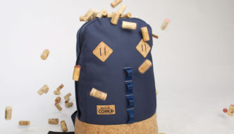 Corked Backpack in blue