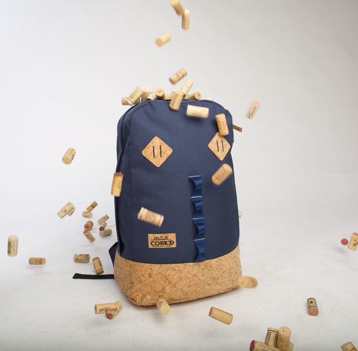 New lifestyle brand infuses backpacks with cork