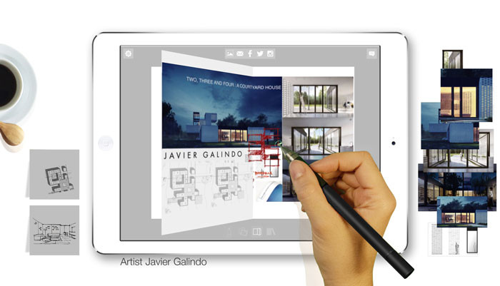 Morpholio Journal App - Artist Javier Galindo