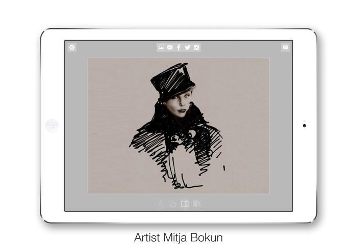 Morpholio Journal App - Artist Mitja Bokun