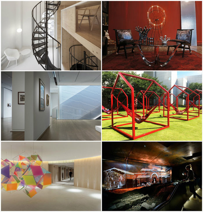 World Interiors News Awards 2015   Museum Or Exhibition Spaces Category  Shortlist