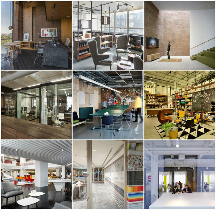 World Interiors News Awards 2015 - Workspace Interiors Less Than 10,000 SQ. M Category Shortlist