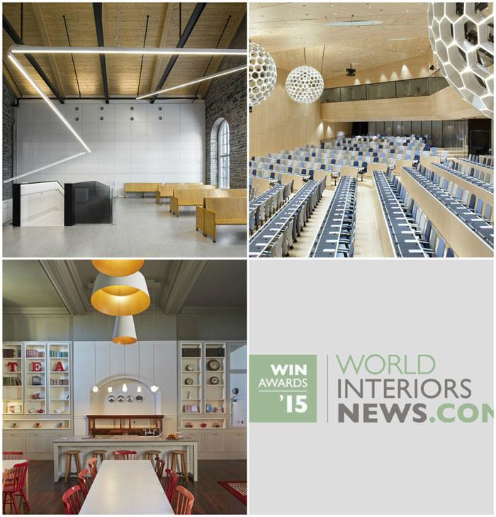 World Interiors News Awards 2015 - Public Sector Shortlist