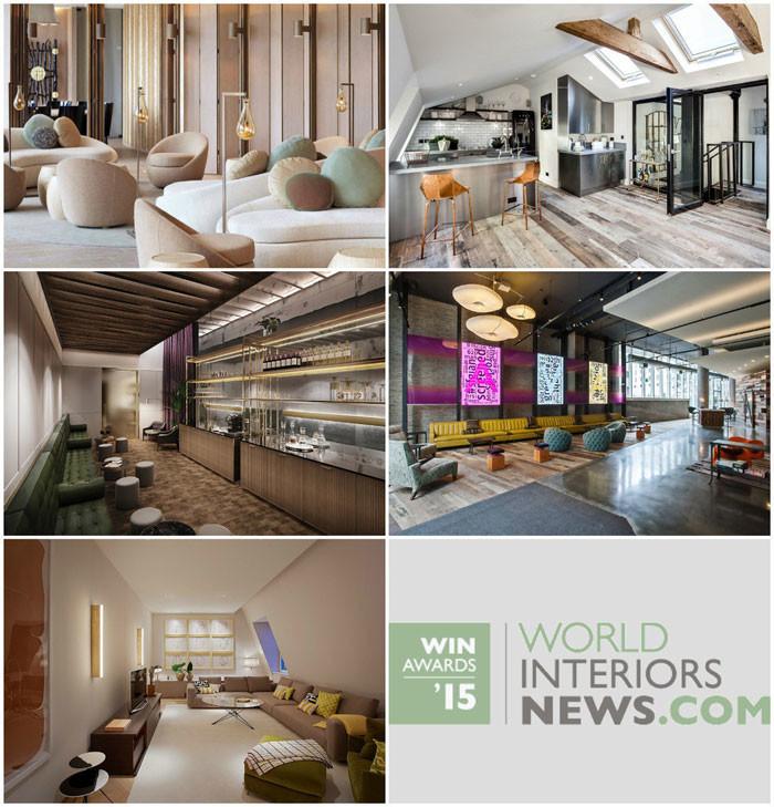 World Interiors News Awards 2015 - Residential Development Category Shortlist