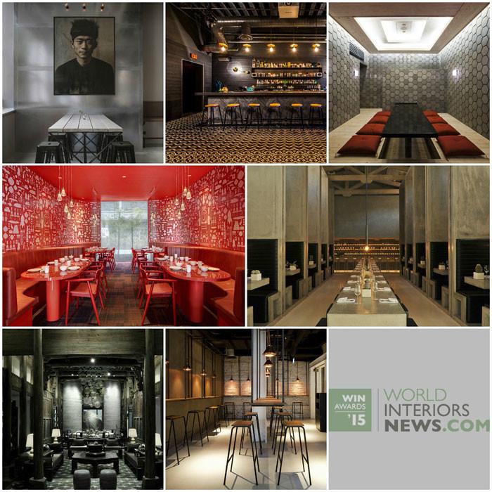 World Interiors News Awards 2015 - Restaurant Category Shortlist