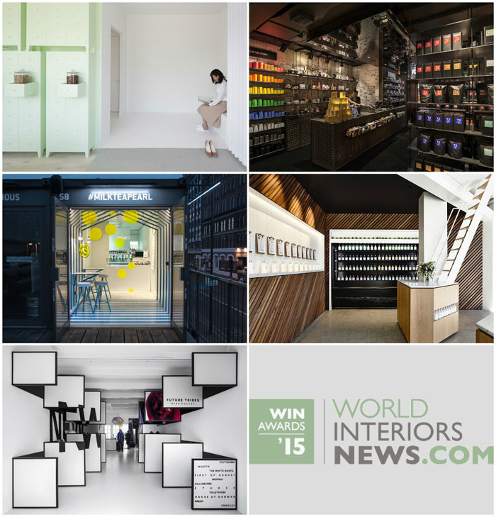 World Interiors News Awards 2015 - Retail Interiors Less Than 200 SQ. M Category Shortlist
