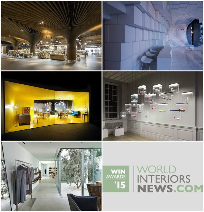 World Interiors News Awards 2015 - Retail Interiors Greater Than 200 SQ. M Category Shortlist
