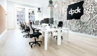 New office of creative agency dpdk