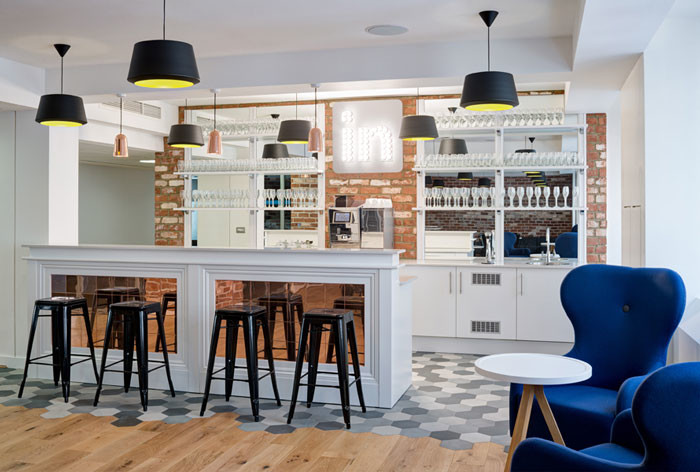 LinkedIn London's office design by Denton Associates