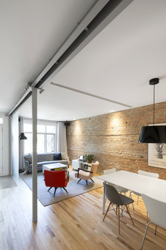 867 De Bougainville apartment by Bourgeois / Lechasseur Architects