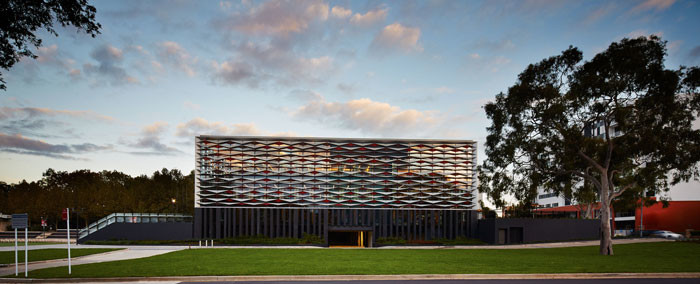 Bankstown Library and Knowledge Centre by Francis-Jones Morehen Thorp - East Facade