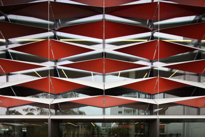 Bankstown Library and Knowledge Centre by Francis-Jones Morehen Thorp - Facade detail