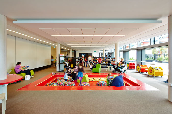 Bankstown Library and Knowledge Centre by Francis-Jones Morehen Thorp - Playspace