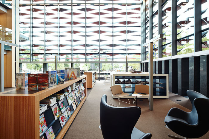 Bankstown Library and Knowledge Centre by Francis-Jones Morehen Thorp - Lounge