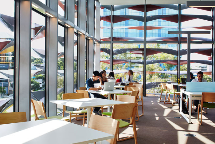 Bankstown Library and Knowledge Centre by Francis-Jones Morehen Thorp - Reading Room