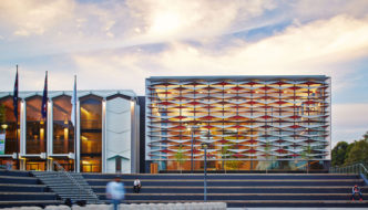 Bankstown Library and Knowledge Centre by Francis-Jones Morehen Thorp - South Facade